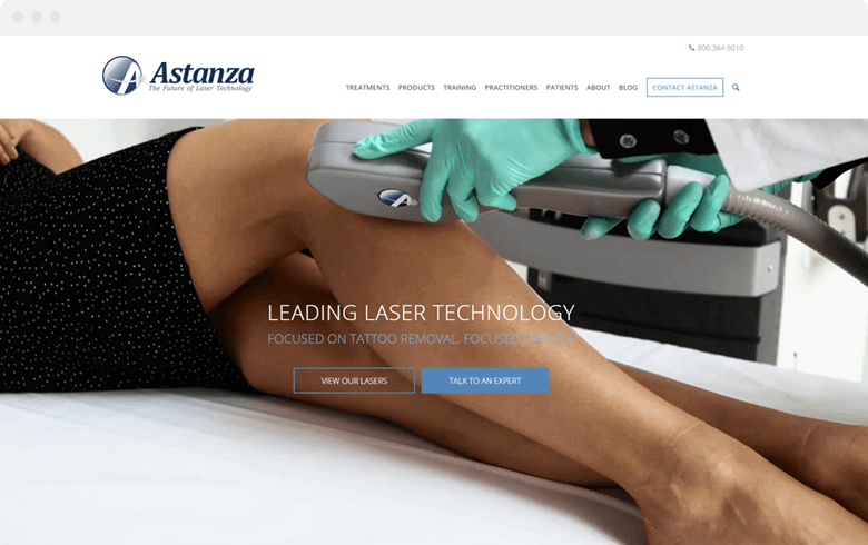 astanza laser website