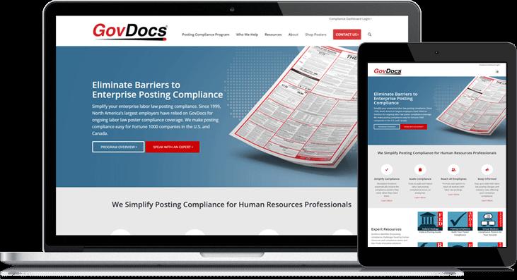 govdocs website redesign on hubspot
