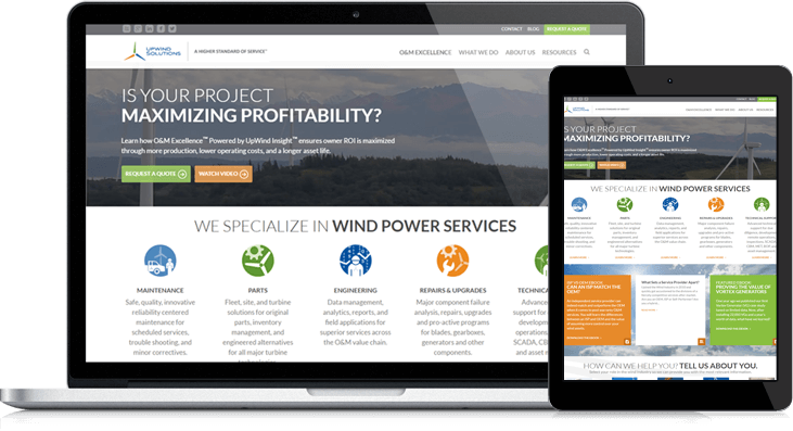 Upwind Solutions' Powerful New Site Gives Visitors Info They Need